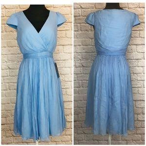 J CREW Silk Cocktail Bridesmaid Dress